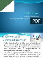 Liderazgo (2 sesiones)