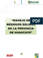 Residuos Solidos en Huancayo