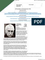 Enrique Pichon Riviere - Del Psicoanalisis a La Psicologia Social