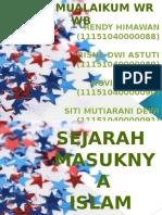 KEL.10 Sejarah Masuknya Islam Ke Indonesia