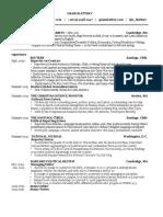 Resume - Gram Slattery - October