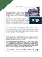 sejarah-muhammadiyah
