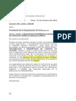 Carta N 055-2016-CIED (Curso Trazabilidad)