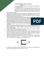 ME6503 Design of Machine Elements Important Questions