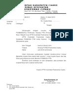 Surat Pemberitahuan Sosialisasi Posbindu 2015