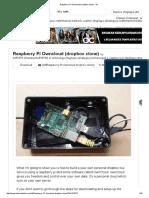 Raspberry-Pi-Owncloud-dropbox-clone Di Akses 9 September 2016