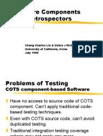Software Components With Retrospectors