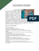 Funciones de Una Enfermera Instrumentista