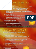 Windows Ce .Net 4.2_single Slide Overviews