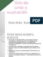 Análisis de Discurso y Educación