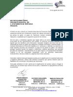 Petición Pcim Tlaxacala