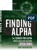 Finding Alpha - Eric Falkenstein