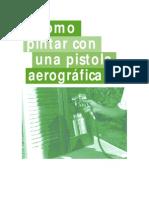 Arte Aerografia-Aerografo Pistola Grande