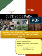 PRODUCCIÓN DE SEMILLA DE PAPA