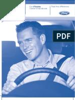 Ford Fiesta Mk7 Owners Handbook