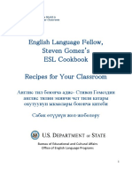 Steven's Esl Cookbook