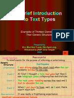 Text Types Genre