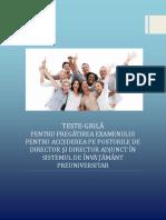 Romana.Info.Ro.2616 TESTE GRILA CU RASPUNSURI - CONCURS DIRECTOR SCOALA 2016.pdf
