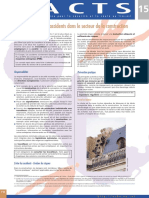 Factsheet 15 - Prevention Des Accidents Dans Le Secteur de La Construction