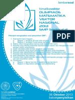 Soal Penyisihan Smp Omvn 2013 PDF