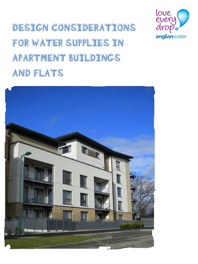 Design Considerations for Water Supplies in Apartment Buildings