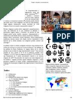 Religión - Wikipedia, La Enciclopedia Libre