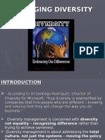 52400937 Managing Diversity Final New Ppt