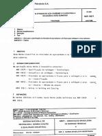 NBR 10617   ELETRODOS DE ACO - ARCO SUBMERSO