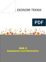 6761_2. Equipment Cost Estimation