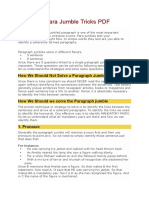 Para Jumble Tricks PDF