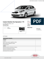 Carens Emotion Eco Dynamics 7 Pl