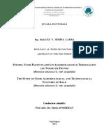 Cercetare Stiintifica Varza de Frunze Cluj