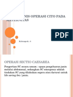 Jenis – jenis operasi cito pada Maternitas.pptx
