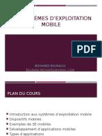 Les Systèmes d'Exploitation Mobile