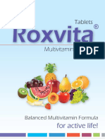 Roxvita Brochure