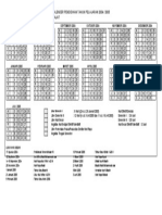 Kalender Pendidikan Tahun Pelajaran 2004
