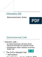 electrochemirstry concepts