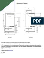 Arduino PCB Dimensions