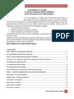 2DA UNIDAD EDUCACION COMPARADA CARRERA DE PEDAGOGIA Y CIENCIAS DE LA EDUCACION
