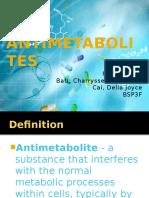 Antimetabolites