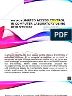 An Automated Access CONTROL in Computer Laboratory Using RFID
