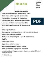 Asmara Nusantara