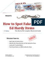 How to Spot Fake Ed Hardy Items - The Complete Illustrated Guide