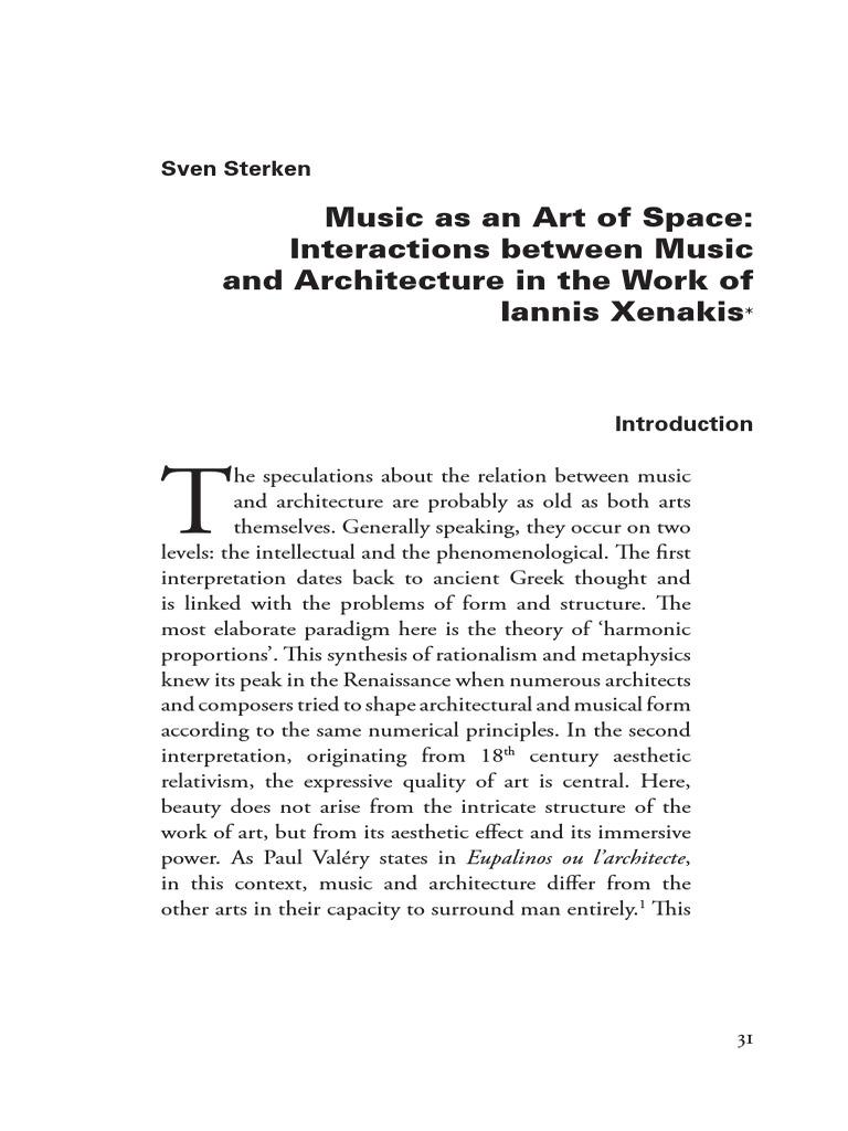 architectural acoustics illustrated pdf xenakis architecture music