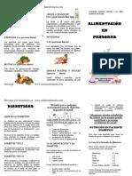 Alimentacion en Diabetes