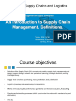 Supple Chain Management