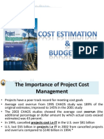 c8 Costestimationandbudgeting 140211071220 Phpapp02
