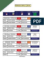 medjuopstinska liga - grupa b - delegiranje - 6  kolo 0