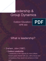 Leadership Group Dynamics