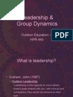 Leadership Group Dynamics